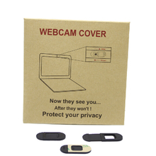 New 2017 Webcam Cover for desktops, Laptops, Tablet Pack of 3pcs, Kraft paper bags packing, with free shipping