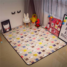 Large Carpet of New Cute Animal Bear Area Rug Rugs Slip Skid Resistant Rubber Backing Machine Washable More Colors Option(China)