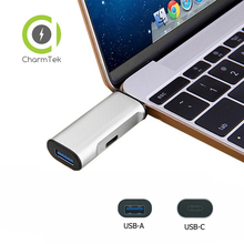 CharmTek USB 3.0 Type-C Charging Adapter Hub for 2015 2016 Macbook USB C Adapter
