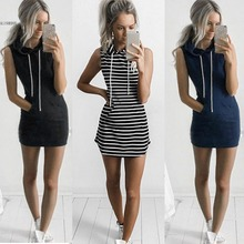 4 Colors 2017 Summer Women Slim BTS Hoodie Dress Pullover Mini Dresses Summer Beach Sporting Dress Bandage Vestidos With Pocket