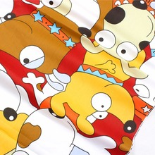 169125.50 cm * 150 cm dog cartoon series cotton fabrics, home textiles, handmade children's products.(China)