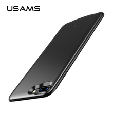 USAMS Battery Charger Case For iPhone 7 7 plus 2500mAh/3800mAh Power Bank Back Cover Case For iPhone 7 External Pack Battery