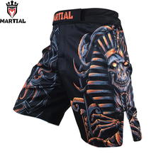 Martial brand original Scorpio constellation design MMA cheap shorts grappling shorts combat mma muay thai SHORTS board shorts(China)