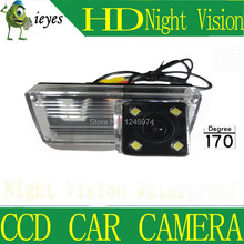 For NEW REIZ 2009/LANDCRUISER HD Car rear view camera Wireless Night vision CCD 170 degree Parking assistance Security