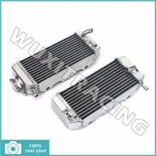 1 Pair Left / Right Motorcycle New MX Offroad Aluminium Core Radiators Cooling for YAMAHA YZ250F YZF250 YZF 250 YZ 250 F 06 07