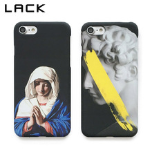 LACK Fashion Retro Art Painting Phone Case For iphone 7 Case Luxury Hard PC Cover Statue Virgin Maria Cases For iphone7 7 Plus(China)