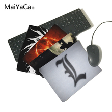 MaiYaCa Death Note Gaming Rectangle Silicon Durable Mouse Pad Computer Mouse Mat 220mmX180mmX2mm and 250mmX290mmX2mm(China)