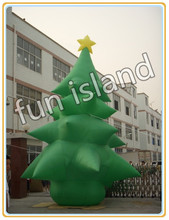 outdoor Inflatable christmas decoration/ inflatable santa/  snowman/  christmas tree