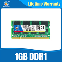 Sodimm DDR 1GB Computer Memory PC Ram 1gb pc3200 ddr400 Compatible pc2700 ddr Sodimm Memory(China)