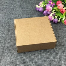 Gift Kraft Box 11.5*11*3.5cm Blank Package Box Jewelry Box for Ornaments/Scarf/Tie DIY 1lot=20pcs Accept Custom Logo Cost Extra