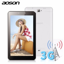 Aoson M707T 7 inch WCDMA 3G Phone Call Tablet PC TN Screen MTK8312 Dual Core Phablet Android 4.4  Dual Camera GPS Tablets