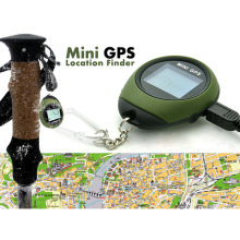 Mini Keychain GPS Tracker Handheld Location Finder Small Pocket GPS Tracking System Pathfinding Kits for Camping Hiking(China)