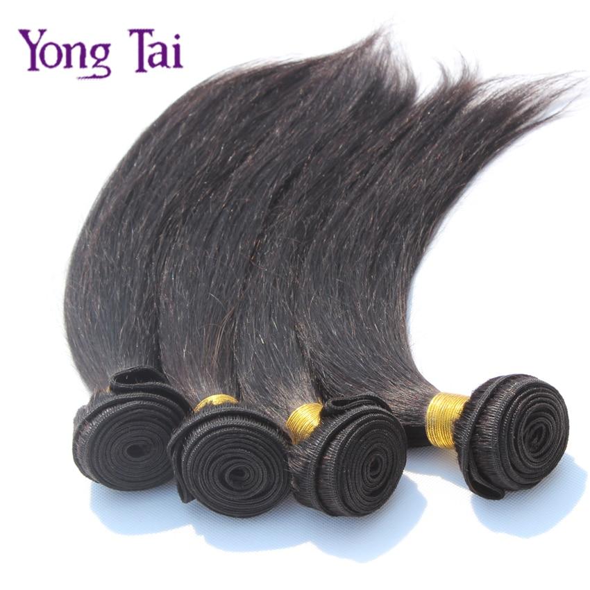 6A Indian virgin hair 1pcs lot straight human hair natural black color1b hair unprocessed virgin indian hair straight extensions<br><br>Aliexpress