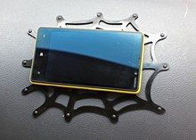 MP4 Ipod Nano Touch Iphone Mobile Phone Pad In Car Holder Sticky Pad spider Gadget Mat(China)