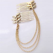 New head chain hair combs pins jewelry hair accessories for women wedding chinese hair pin comb accessories jewellery accesories(China)