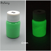 GREEN Luminous Body Paint,glow painting fluorescent paint lacquered Halloween photoluminesous paint,glow in dark paint for party