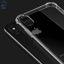 Buy KRY Silicon Anti-knock Phone Cases iPhone 7 X 8 Case Ultra Thin Soft TPU Cover iPhone 6 Case 6s 5 5s Cases Capa Coque for $1.25 in AliExpress store