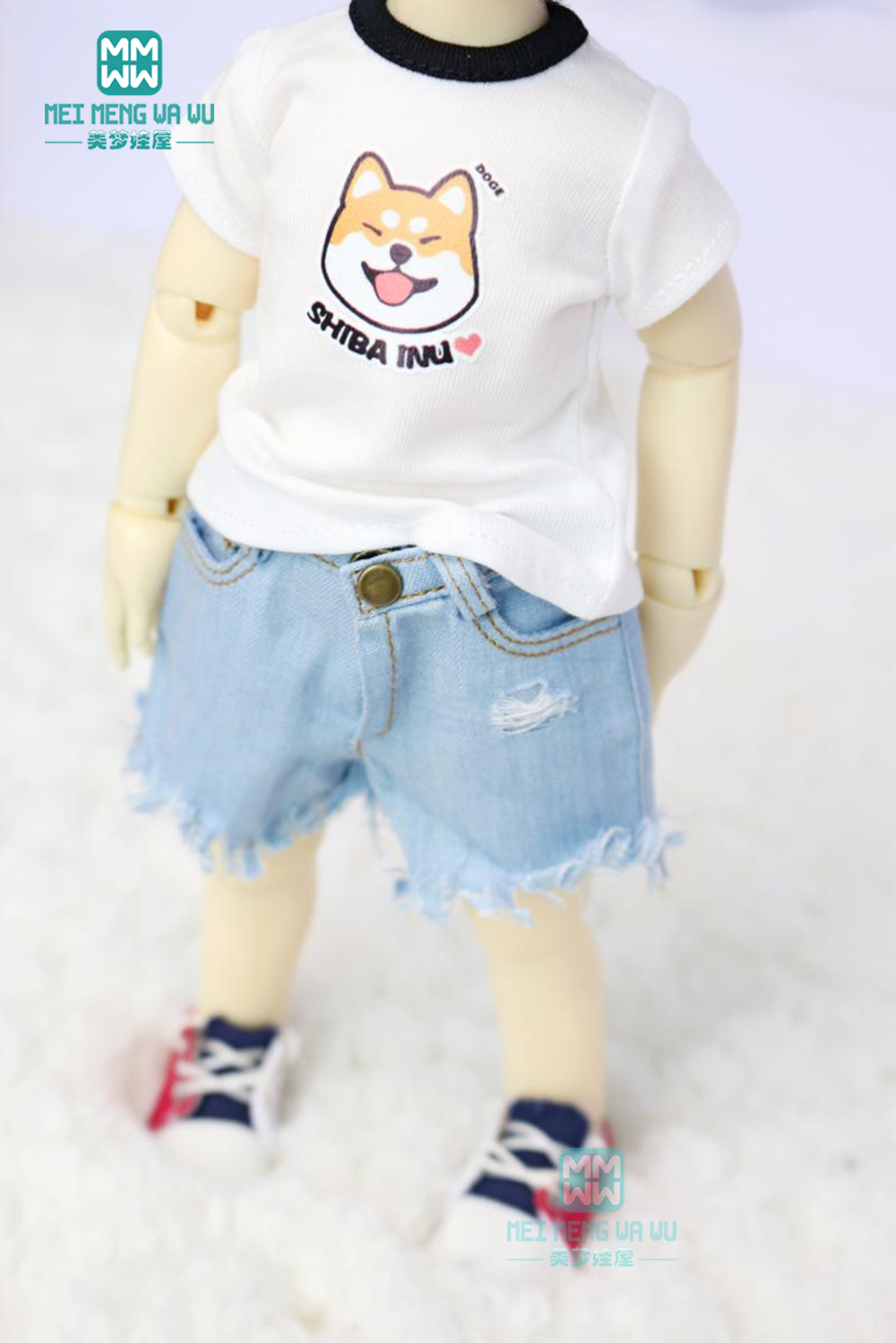 1//6 Casual Look Sweater T-shirt /& Pants for BJD 30cm Doll Puppet Toys Decor
