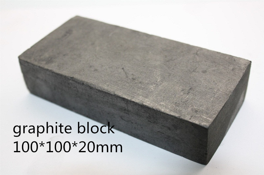 100*100*20mm Graphite plate blank    FOR Graphite Corner Ruler , Graphite Heater , FREE SHIPPING 1piece<br>