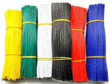 200pcs/lot 20cm 0.66tf 24AWG LED wire, LED cable,color wire, antioxidant Tin Plated Copper Wire ,easy to welding