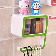 Multi-functional Home wall-mounted shelves 9 Shaped Storage Rack Soap Towel Tidy Holder Organiser Car styling Storage Rack