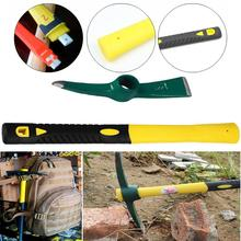 camping Hatchets Axe Tactical Outdoor Steel Pickaxe Rock Fire Caving Hand Hammer Pick Camp Fishing Ice Survival Army Tool