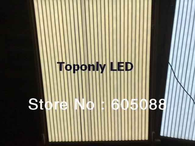 led t8 tube fluorescent lamp 18w,ac100-240v,1700lm with frosted PC cover,isolated power design,safe to use at home,10pcs/lot !<br>