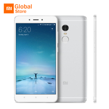 "Xiaomi Redmi Note 4 3GB 32GB Mobile Phone MTK Helio X20 Deca Core 5.5"" FHD 4100mAh Battery Fingerprint ID 13MP Camera"
