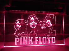 LF036- Pink Floyd Band Music Bar Pub LED Neon Light Sign home decor crafts(China)