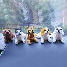 2017 New Car Styling Cute  Dog Doll Car Nodding Dog Shakes His Head Shaking Dog For Car Decoration Furnishing Articles