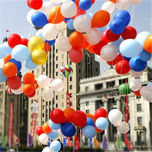 10pcs 10inch Blue Latex Balloon Air Balls Inflatable Wedding Party Decoration Birthday Kid Party Float Balloons Free Shipping