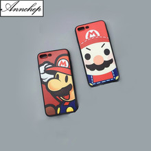 Fashion Childhood Game SuperMario Bros Phone Cases Fundas for iPhone 6S 6 Plus SE 5S 5 Hard Cover for iphone X  7 8 Plus Coque