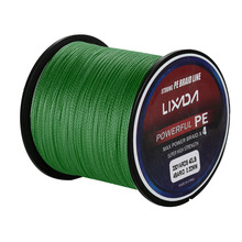 Lixada 300M 330Yards PE Braided Fishing Line 4 stands 6LB 8LB 10LB 15LB 20LB 60LB Multifilament Fishing Line for Carp Fishing(China)
