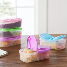 Portable Microwave Lunch Set Picnic Bento Refrigerator Food Container Storage Box
