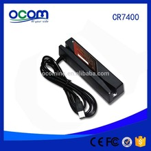 CR7400 hico loco usb plug and play electorinc magnetic card reader