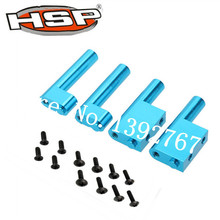 HSP Upgrade Parts Radio Tray Post 4Pcs 122003 For 1/10 Scale Models RC Nitro Power Advanced On Road Car 94122 XSTR POWER Redcat