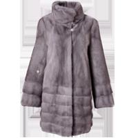 Mink coat style