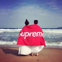Free Shipping Supreme Towel Microfiber Sports Towel Quick Drying 140x70cm Leisure Fitness Cartoon Towel Bath Towel