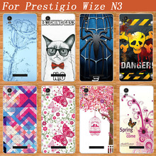 Luxury Fashion painting Phone Protective TPU DIY Cover For Prestigio Wize N3 NX3 NK3 3507 DUO phone case for Prestigio Wize M3
