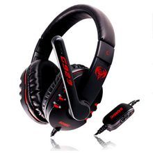 Bass Studio Hifi Casque Audio Gaming Headset Gamer Headphone Noise Canceling Big Earphone For Compute PC Headfone Head Set Phone(China)