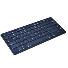 Ultra Slim Wireless Keyboard Bluetooth 3.0 For iPad For iPhone Series/Mac Book For Samsung Phones/PC Computer High Quality(China)