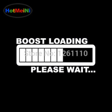 HotMeiN BOOST LOADING Vinyl Decal Car Styling Car Sticker Top quality Funny JDM & Drift Stickers & Decals EDM Car Truck Window(China)