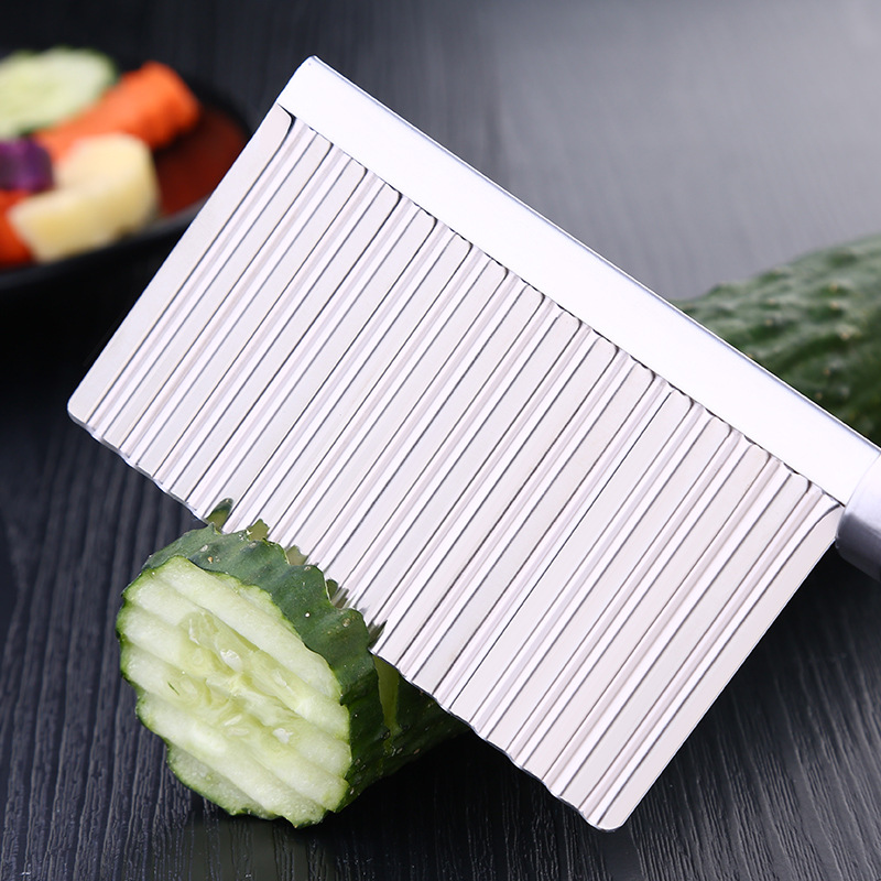 BalleenShiny Potato Slicer Cutter Knife Kitchen Gadgets Accessories Cooking Tools Stainless Steel Fruit Vegetable Chip Cut tool 8