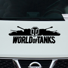 1 Pair New Arrival WORLD OF TANKS Door Stickers Decal Car-Styling For vw audi Renault bmw Benz opel Nissan SEAT car accessories