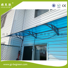 YP100300 100x200cm 100x300cm 100x600cm garden shade door canopy polycarbonate awning with decorative window awning sun awning(China)