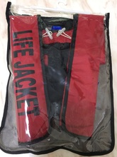 Hot Sell domestic manual type 150N inflatable life jacket Grid packaging Free Shipping(China)