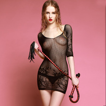 Buy Black Fishnet Bodystocking Women Sexy Lingerie Transparent Erotic Costume Lenceria Sexy Bodysuit Porno Erotic Teddies