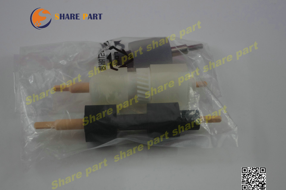 2X Bypass Feed Roller Kit 604K23670 059K26570 604K23660 for DocuColor 5065 5065 II 6075 DCC6550 DCC5065 DC240 DC250 DC242 DC252<br>