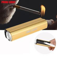 USB Rechargeable Multifunctional CREE XPE 3800 LM 4 Modes LED Flashlight Torch 18650 Battery Cigarette Lighter(China)