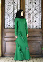 2016 muslim cotton robe slim Musilm abaya high quality dress in dubai islamic dress turkish traditional clothing for women
